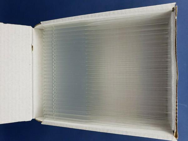"VWR 14672-380 Disposable 9"" Pasteur Pipets Lime Glass, 250 pieces,New Open Box"