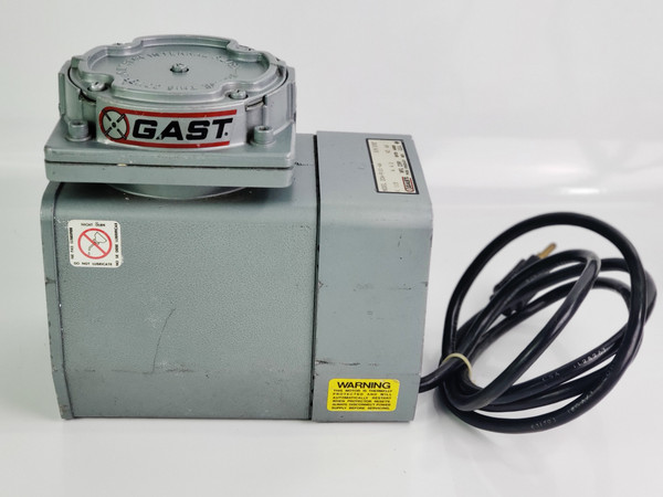 GAST Model DOA-P101-AA Diaphragm VACUUM PUMP, Oil-less Air Compressor 115 V 4.2A