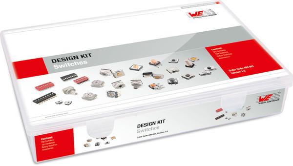 WURTH ELEKTRONIK DESIGN KIT SWITCHES 499 001 Version 2.0 , Nearly Complete