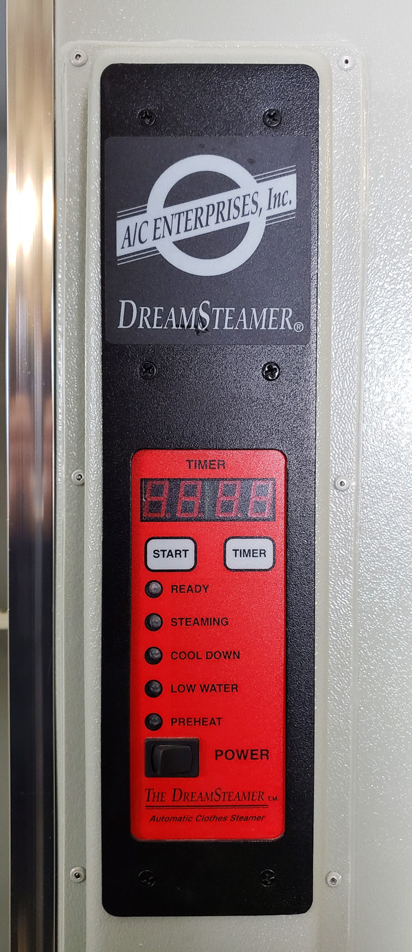 DREAM STEAMER AUTOMATIC CLOTHES STEAMER 2300-308, 24 Garments at once, 100 an ho