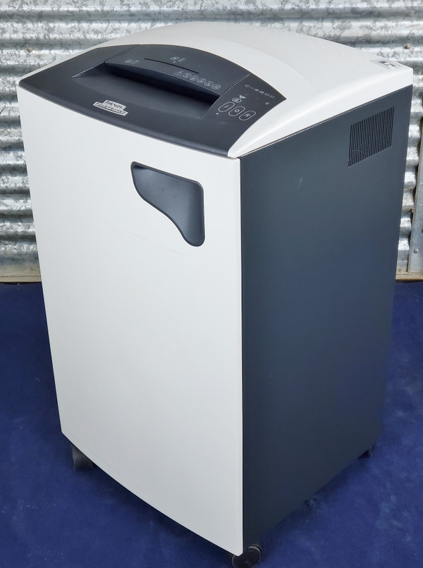 FELLOWES POWERSHRED CROSS CUT SHREDDER C-320C  14-16 Sheet Confetti Cut 20 ft./minute