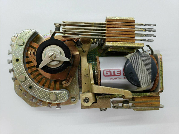 GTE Automatic Electric Compact Rotary Stepping Switch PW 5159 1 NEW NOS Exc cond