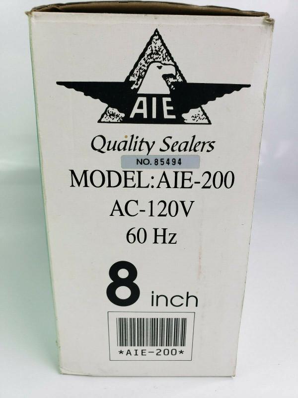 "AMERICAN INTERNATIONAL IMPULSE HEAT SEALER AIE-200 8"" Very Nice Working Cond.!"