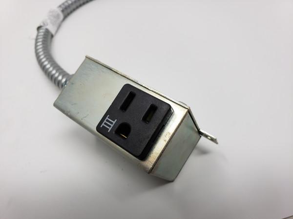 "BYRNE CONNECTORS BE08689-3-3-32 Deskhigh, Simplex, 32"""