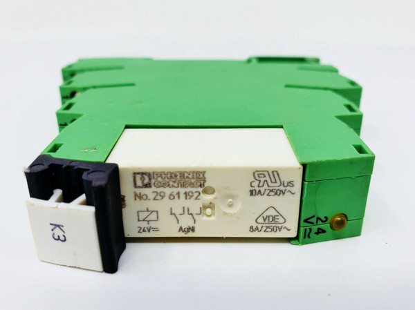 PHOENIX CONTACT PLC-BSC-24UC/21-21, Terminal Block with 29 61 192 Relay