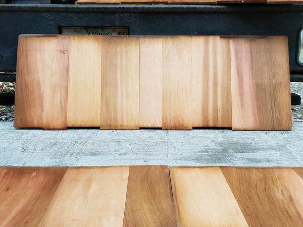 CEDAR SHINGLES Shakertown RED CEDAR BARN SHAKE Easy Panels Stunningly Beautiful!