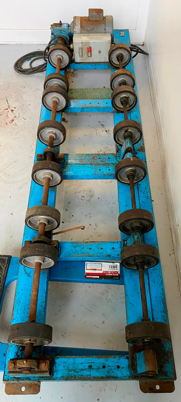 MORSE DOUBLE DRUM ROLLER, 2-5154-3 BARREL ROLLER, For Mixing contents of 2 drums