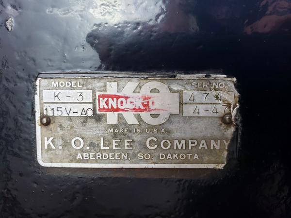 K. O. LEE VALVE GRINDER, Great Shape
