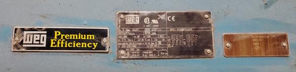 GARDNER-DENVER 75HP ELECTRA-SAVER II ROTARY SCREW AIR COMPRESSOR ECMSLB