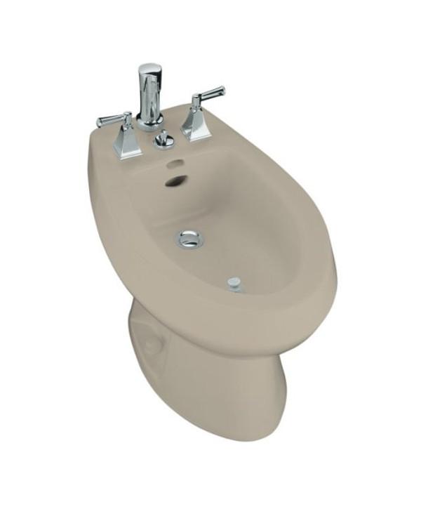 Kohler K-4854-G9 San Tropez® vertical spray bidet with 4 faucet holes, Sandbar NEW