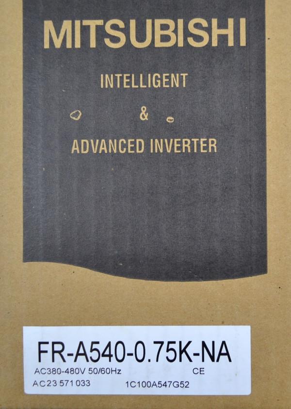 Mitsubishi A500 FR-540-0.75K 400V Transistorized Variable Speed Inverter Servo Drive, New