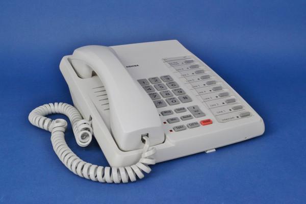 Toshiba Phone DKT3010-S White 20 button speaker phone