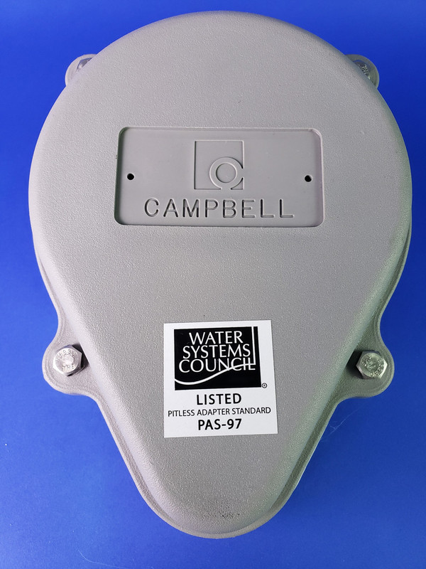 """Campbell Mfg SCP5 ABS Watertite Well Cap 5"""" Size, SC-Style"""