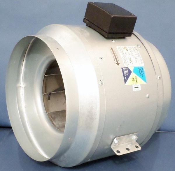"Fantech FKD12 Inline Centrifugal Fan - 12"" 115V with Vibration Mounts"