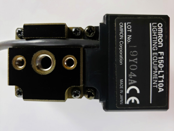 Omron F150-S1A CCD Camera F150-SL20A, F150-LE20 Lens &  F150-LT10A Ring Light NEW