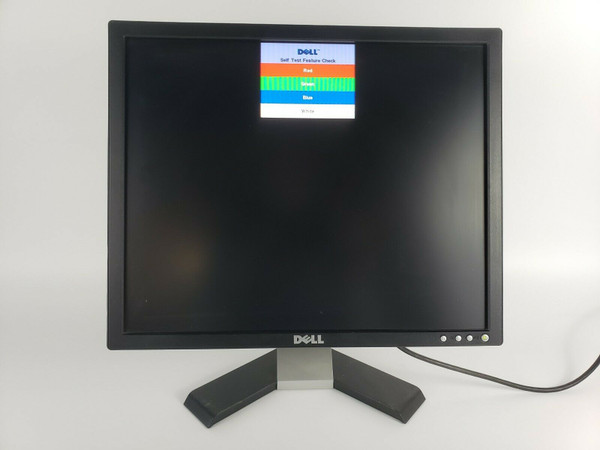 "Dell E198FPb 19"" LCD Monitor 1280 x 1024 DVI VGA Tilt 800:1 5:4 G256H 320-7695"