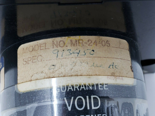 BEEDE MR-24-05 PANEL METER Double set point, Spec 913450, Appears Unused, No Box