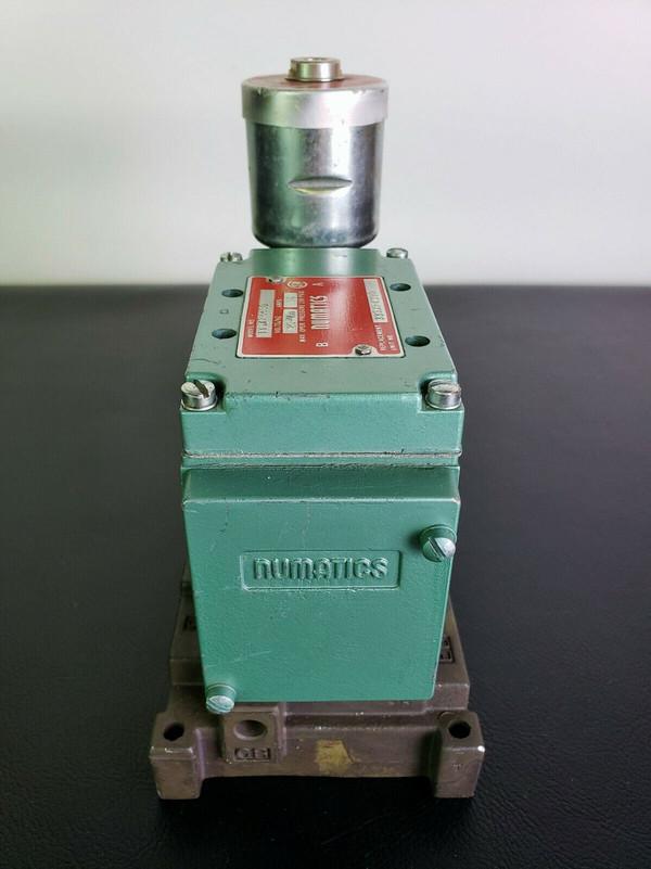 NUMATICS 33SXP4000 PNEUMATICS HYDRAULIC SOLENOID VALVE & MANIFOLD 33SXP4430 EC!