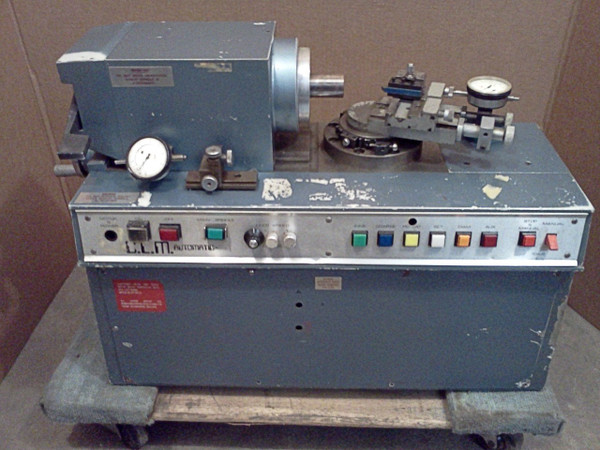ROBERTSON ENGINEERING (Thame) Lathe CLM Optic Semi Auto Contact Lens, Radius