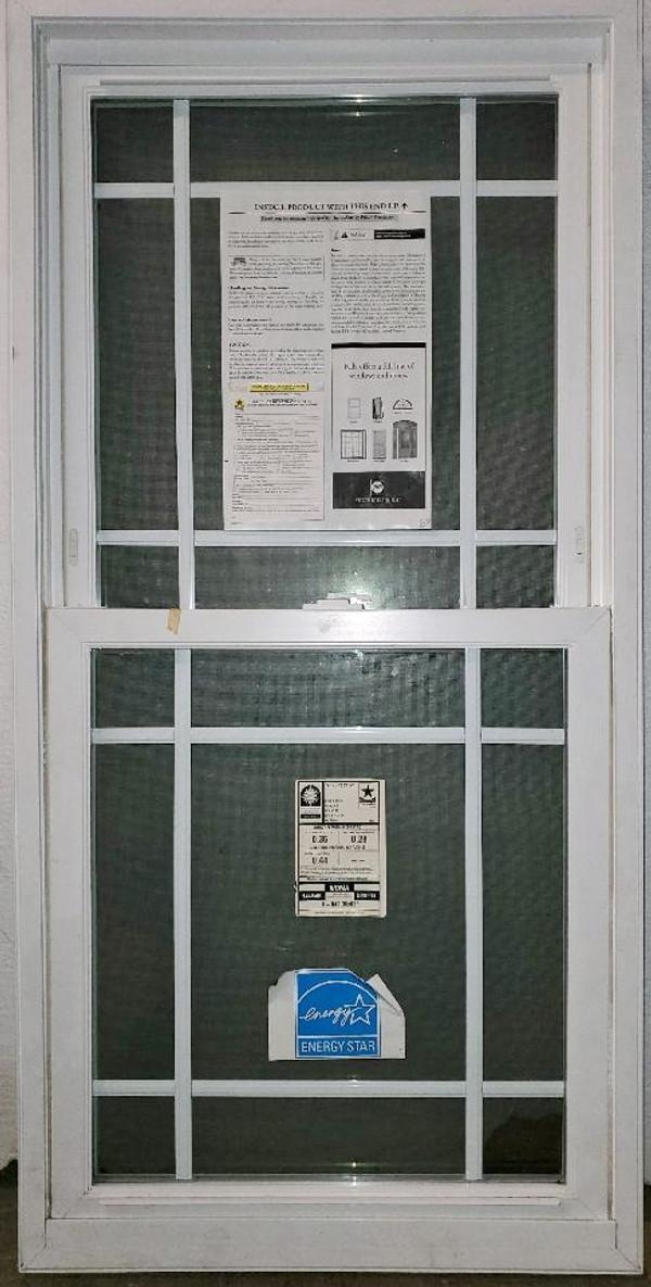 PELLA DOUBLE HUNG Thermopane WINDOW, New