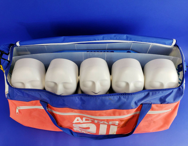 Actar 911 Patrol CPR Training Manikin Kit 5 Pack, Carrying Bag, Exc Condition