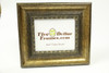 "80295 3.25"" Traditional Gold Leaf Scoop w/Detail Picture Frame"