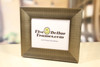 Contemporary Silver Slope Picture Frame
