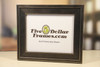 Modern Brushed Silver Picture Frame