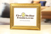 Gold Leaf Traditional Picture Frame