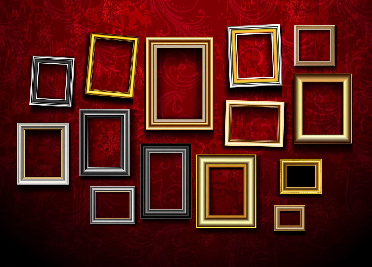 GRAB BAG - Assorted Picture Frames (Set of 5)