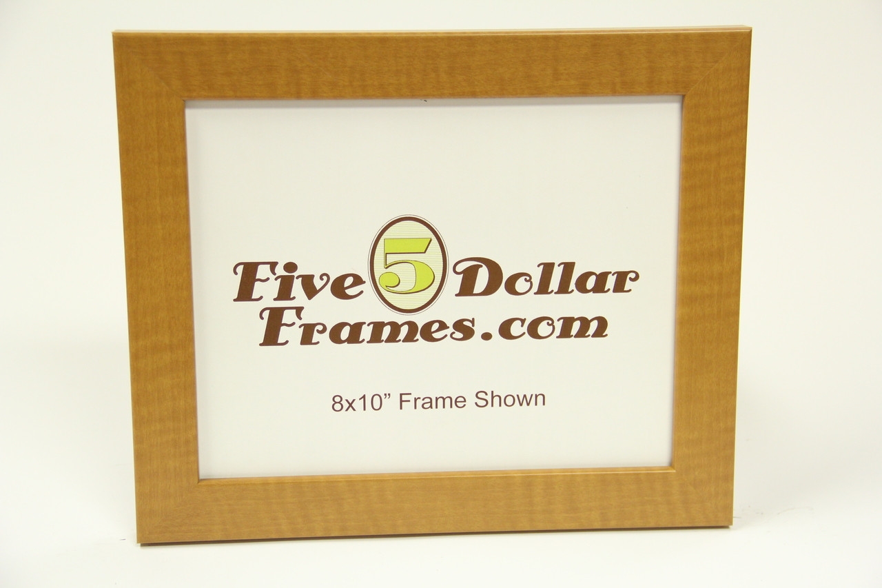 """26 CSW 1.25"""" Pecan Wood Flat Picture Frame"""