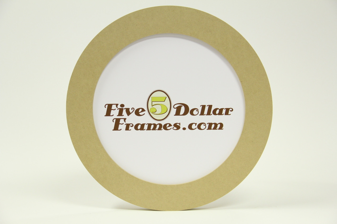 """12 RND 12"""" Round Composite Picture Frame"""