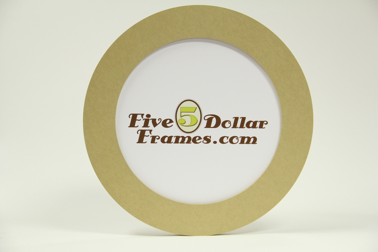 "14 RND 14"" Composite Round Picture Frame"