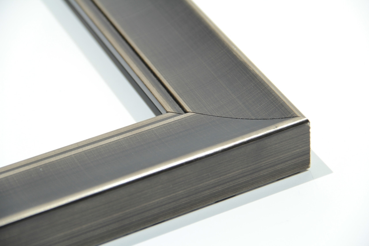 "10238  2"" Silver Brushed Studio Slope"