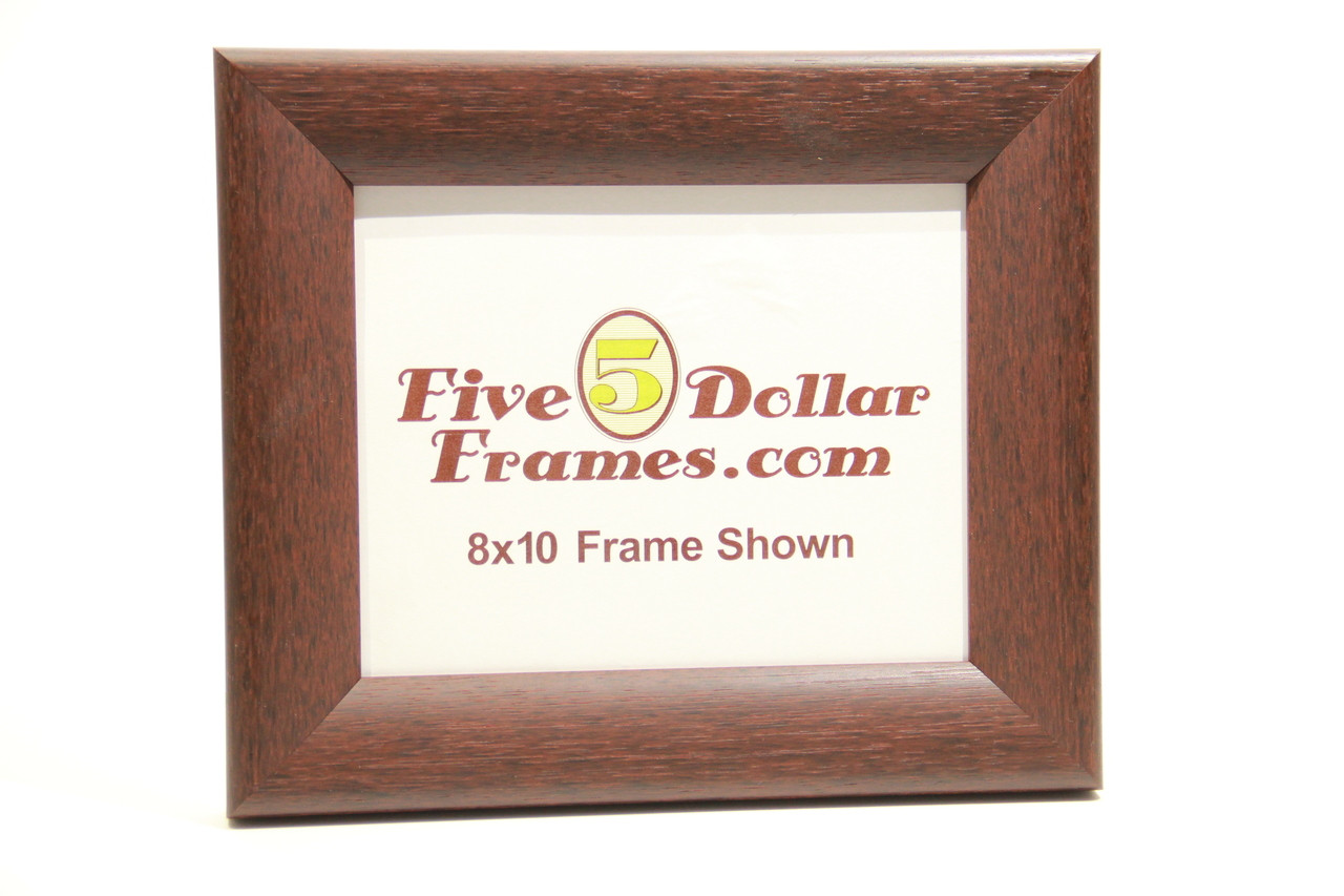 "476520 2"" Walnut Sloped Modern Wood Picture Frame"
