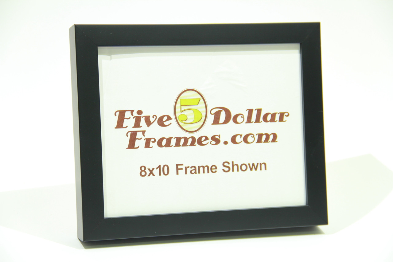 "10778 1.25"" Black Shadowbox Picture Frame"