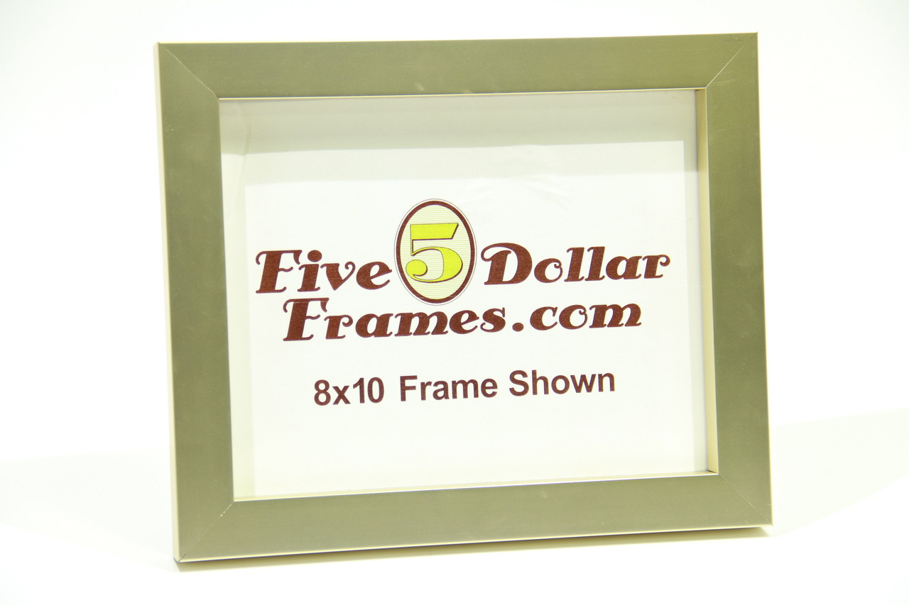 """715-13 1"""" Pale Gold Flat Face Picture Frame"""