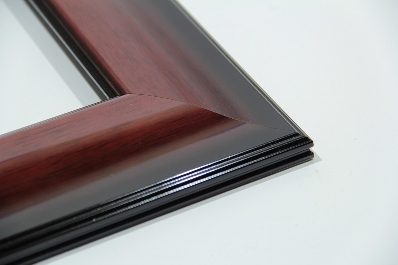 """800-330 2.75"""" Mahogany High Gloss Lacquer Picture Frame"""