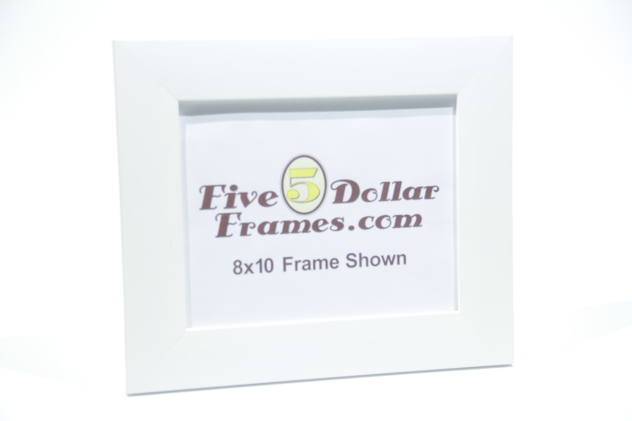 "252-22 2"" Satin White Flat Face Picture Frame"