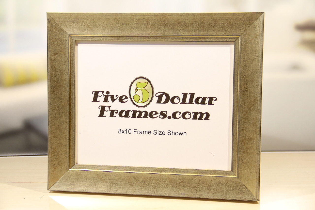 Traditional Pewter Slope Picture Frame