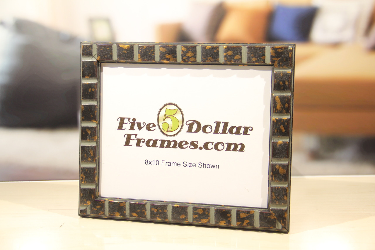Classic Panel Bronze Picture Frame