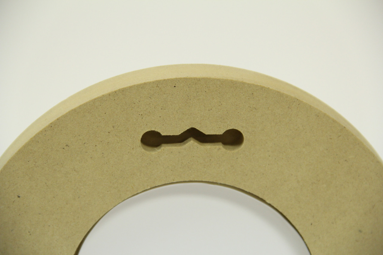 "10"" Round Composite Picture Frame"