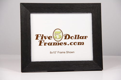 Old American Black Barnwood Picture Frame