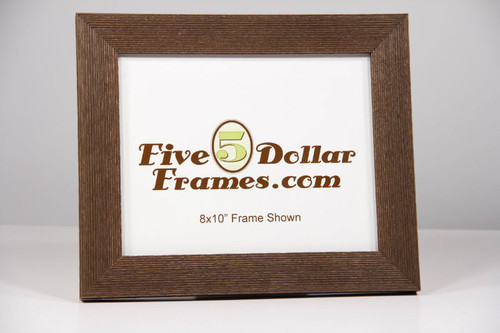 Old American Brown Farmhouse Picture Frame
