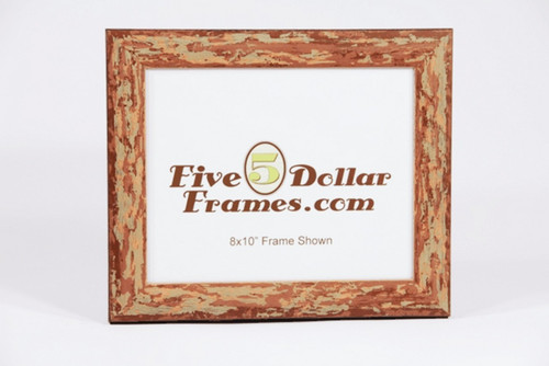 8705 1.25 in Italian Made Rustic Distressed Picture Frame