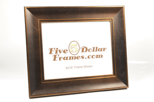 10239 2.25 in Modern Bronze Slope Picture Frame