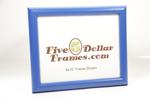 46297 1.0 in Satin Blue Dome Picture Frame