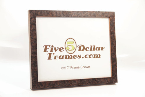 Flat Rough Sawn Distressed Picture Frame