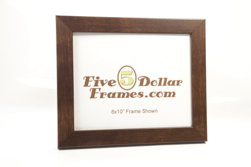 Medium Brown Composite Wood  Picture Frame