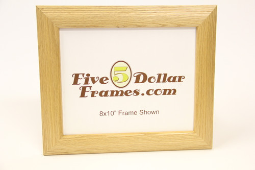 "6956 1.5"" Stepped Oak Picture Frame"